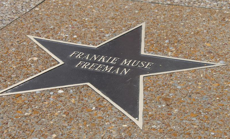 Civil rights advocate Frankie Muse Freeman was inducted into the St. Louis Walk of Fame in April 2015