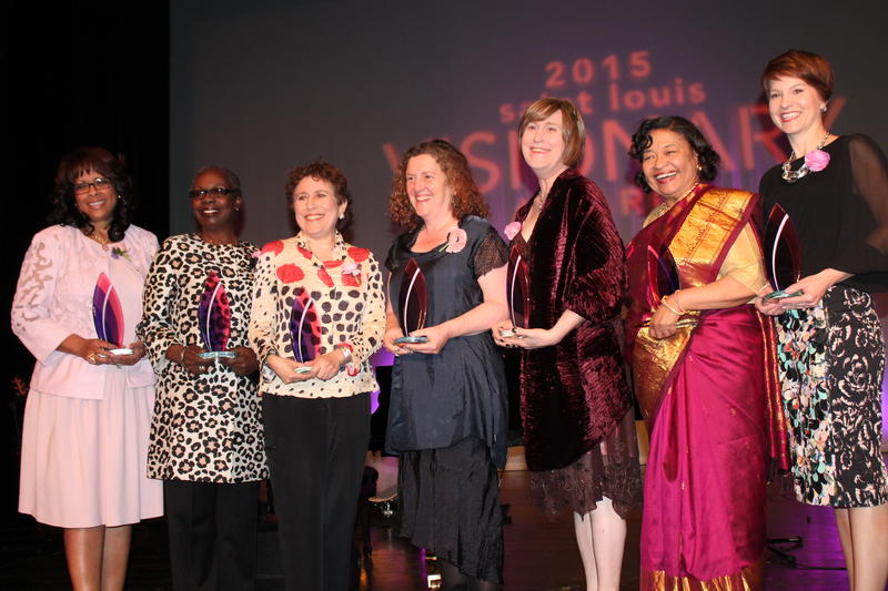 Left to right. Thelma Steward, Freida Wheaton, Amy Kaiser, Ilene Berman, Shualee Cook, Cecilia Nadal, Kelly Pollack