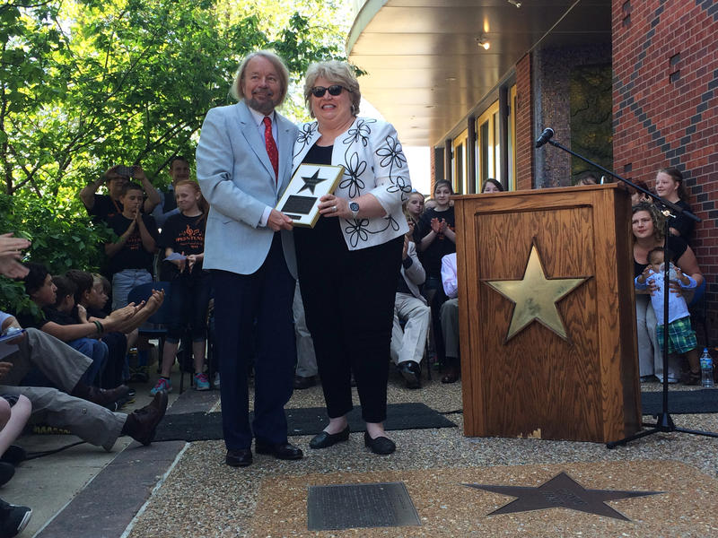 Christine Brewer is inducted into the St. Louis Walk of Fame