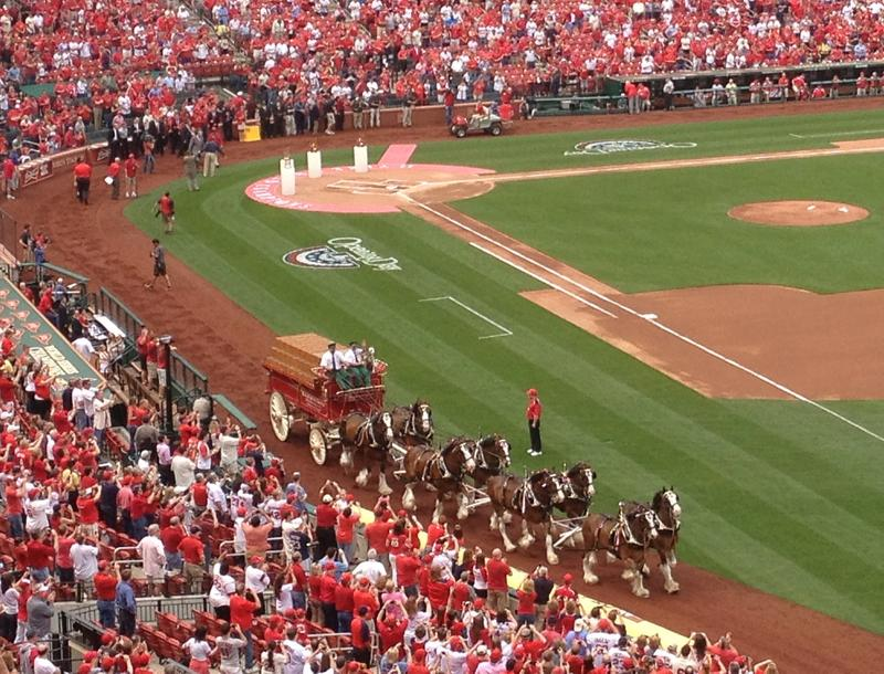 It's not spring until the Clydesdales say it is.
