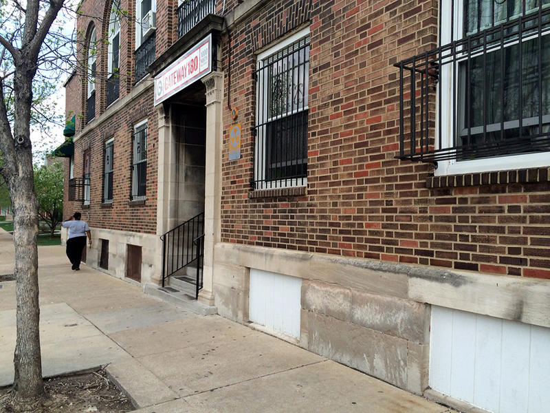 Gateway 180 at 19th St. and Cole St. provides shelter to more than 100 women and families.
