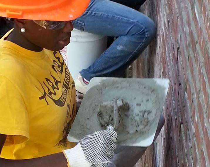 The Harambee Youth Training program, which teaches kids tuckpointing skills, received a HUD-funded community development block grant from the St. Louis city's community development administration in 2014.