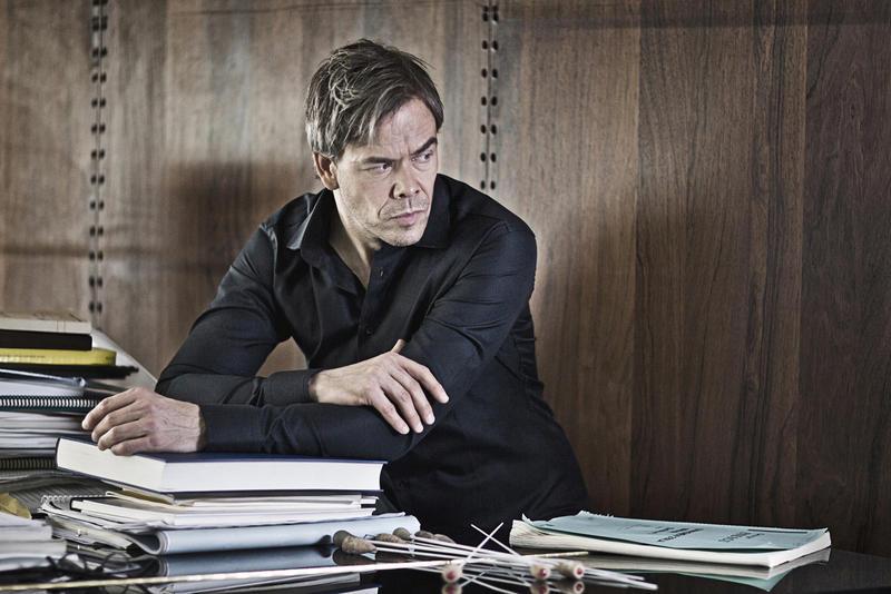 Conductor Hannu Lintu.