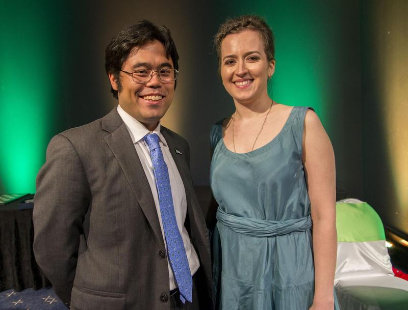 Hikaru Nakamura and Irina Krush