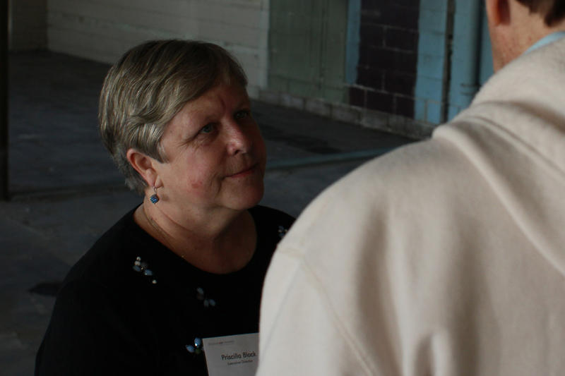 Executive Director Priscilla Block
