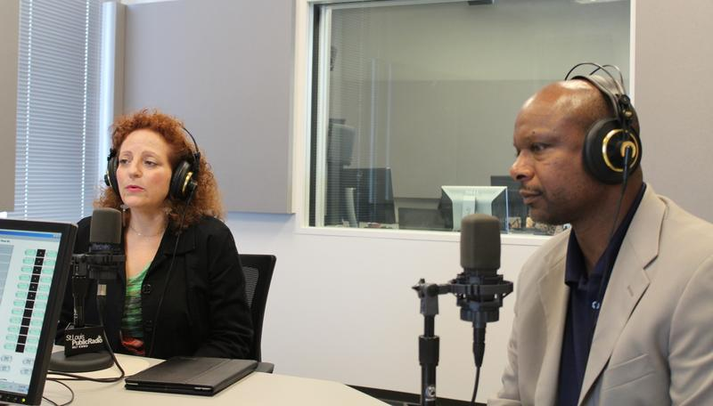"Karen Aroesty and Dan Isom joined ""St. Louis on the Air"" host Don Marsh."
