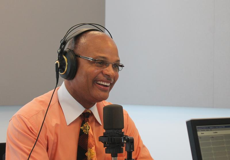 "Former East St. Louis mayor Alvin Parks, Jr. joined ""St. Louis on the Air"" host Don Marsh."