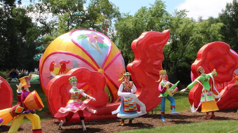 he Chinese Lantern Festival opens at the Missouri Botanical Garden on May 23.