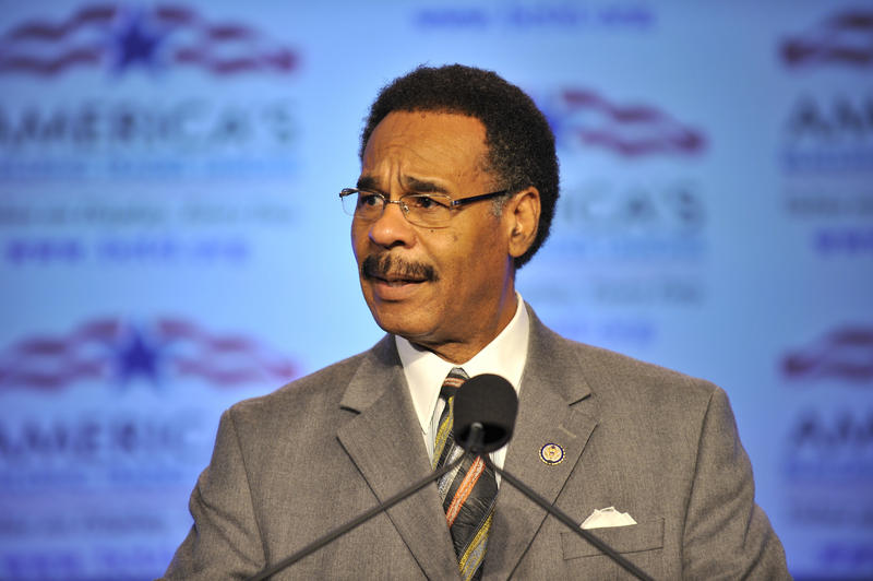 U.S. Rep. Emanuel Cleaver, D-Kansas City, is strongly backing efforts to curb cities' ability to take in traffic fine revenue.