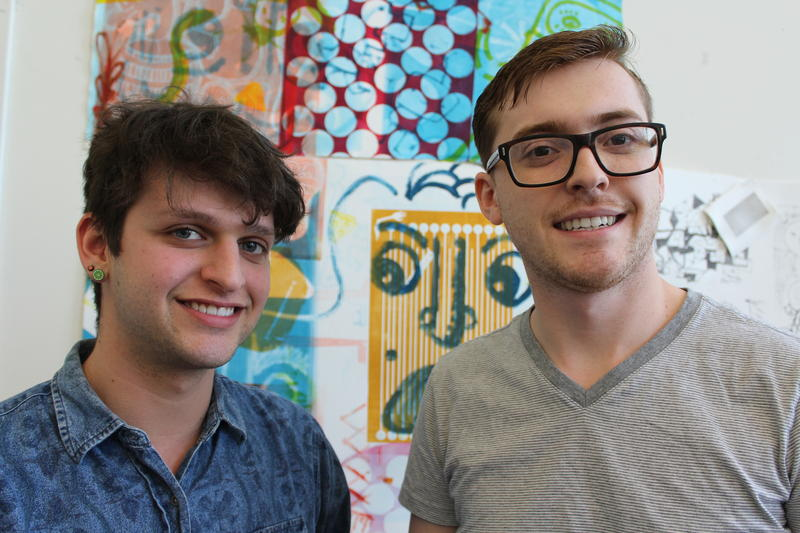 Tucker Pierce (left) and Nicholas Curry (right) are the founders of Westminster Press, which opens this summer.