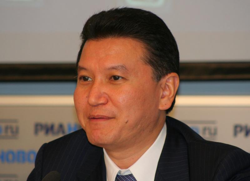 Kirsan Ilyumzhinov, head of FIDE