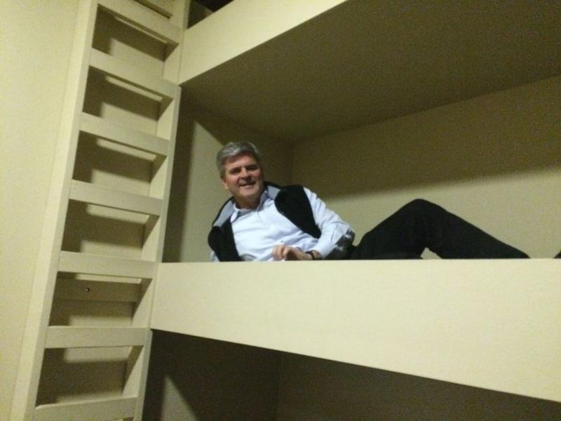AOL's Steve Case at LockerDome's Lockerdorms