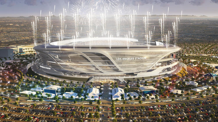 Proposed Carson, California stadium