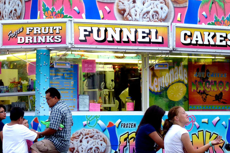 generic funnel cake photos
