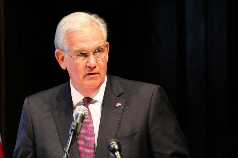 "Gov. Jay Nixon says there's a distinctioGov. Jay Nixon says there's a distinction between a gas tax increase and ""trying to get some sort n between a gas tax increase and as being different ""than trying to get some sort of generalized additional revenue."""