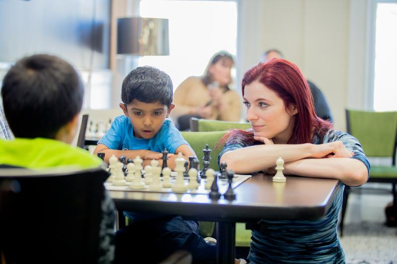 Youngsters can learn the basic of chess.