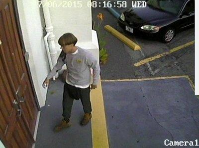 Charleston SC shooting suspect