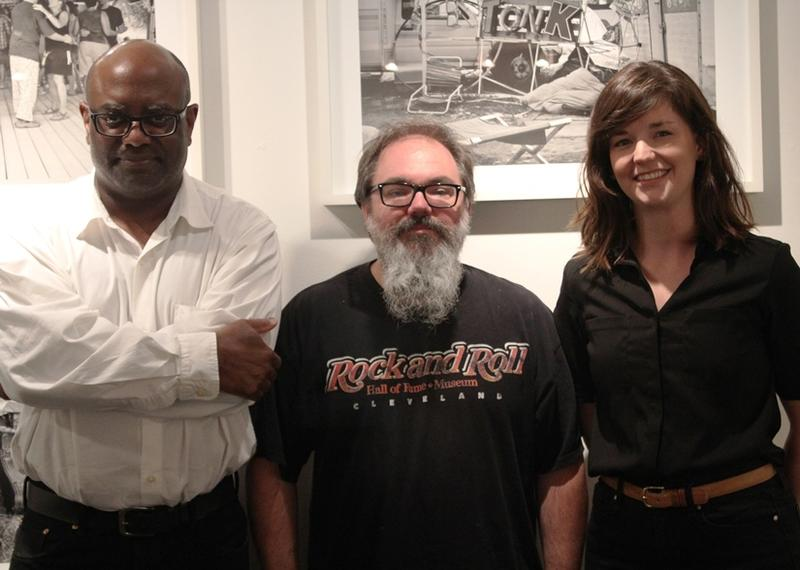 William Morris, Brett Williams and Meghan Grubb