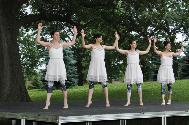 Leverage Dance Theater at Shakespeare Festival's House Stage