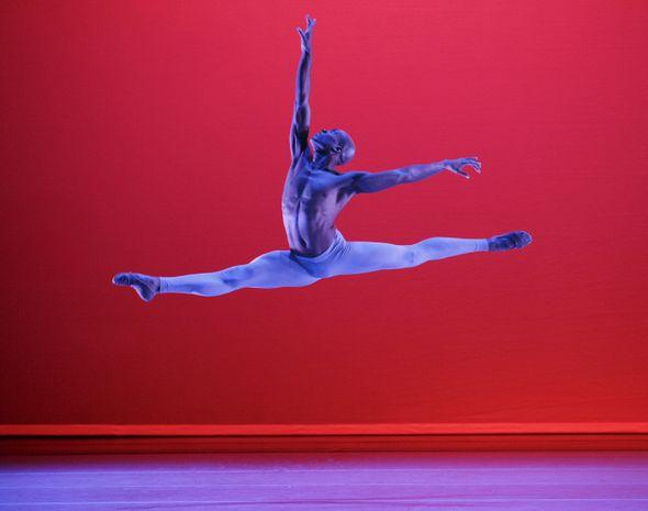 Antonio Douthit-Boyd in Alvin Ailey performance