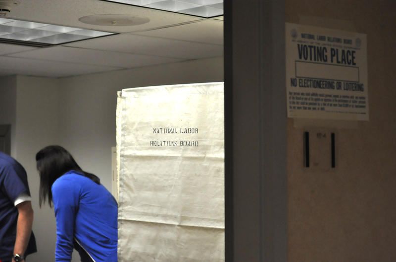 369 members of the nurse's union at St. Louis University Hospital participated in the vote throughout the day Monday.
