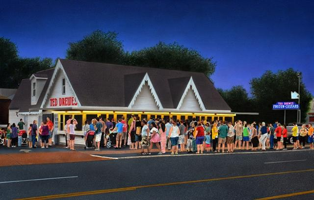 Ted Drewes Painting