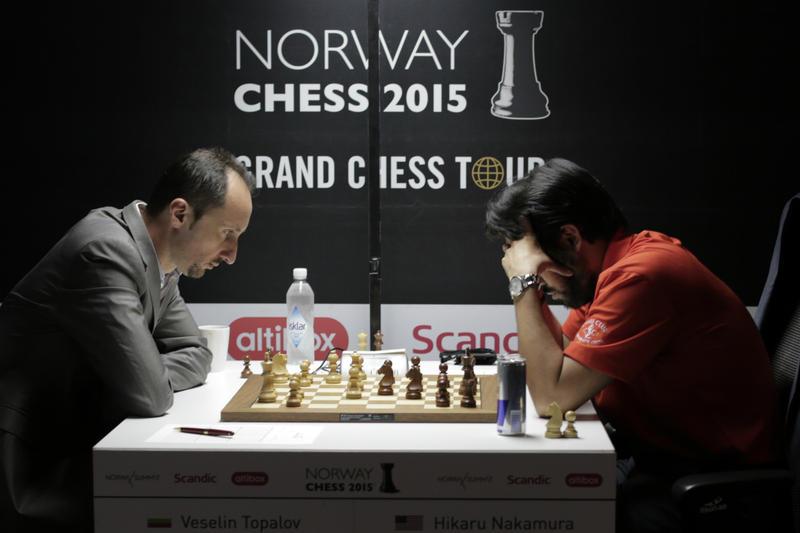 Veselin Topalov and Hikaru Nakamura