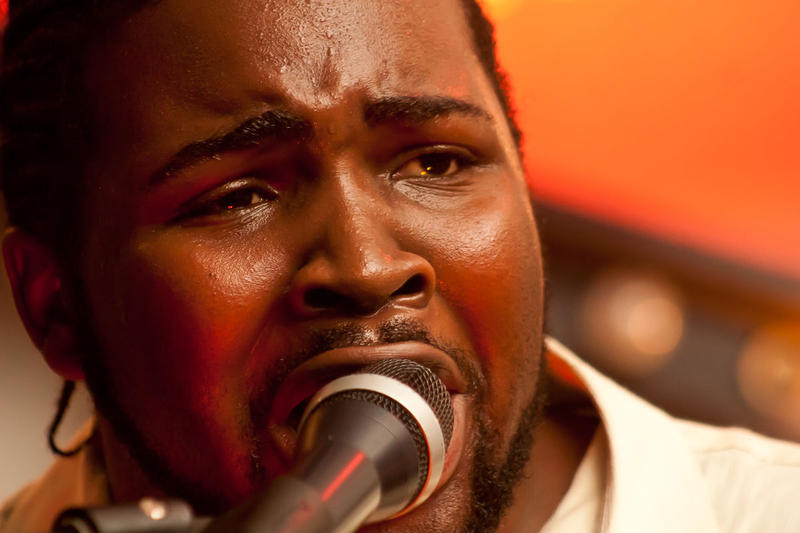 Marquise Knox at the Reykjavik Blues Festival in 2011