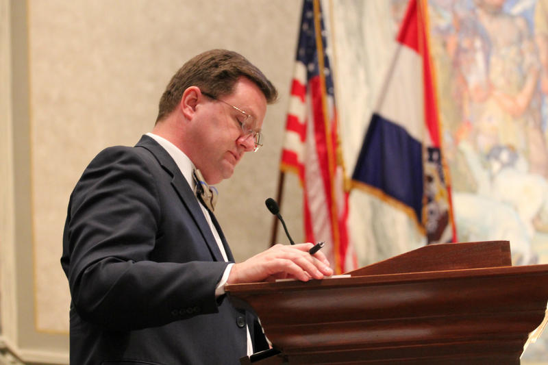 Missouri state Sen. Bob Dixon, R-Springfield, during the most recent legislative session