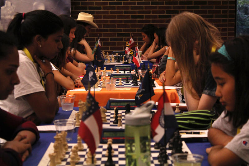 60 girls from 30 states and 10 countries compete this week at the Susan Polgar Foundation Girls' Invitational