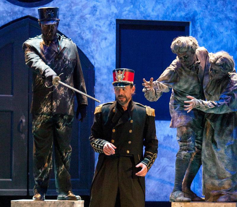 Galen Scott Bower sings the title role in Union Avenue Opera's Don Giovanni