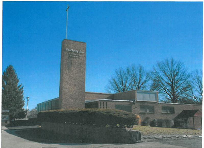 The Faith-Salem Church building at 7348 West Florissant Avenue in St. Louis County was constructed c.1954, Jennings