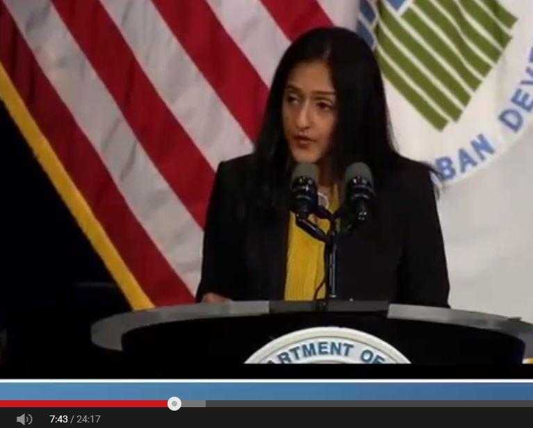 Vanita Gupta, head of the Civil Rights Division of the U.S. Department of Justice