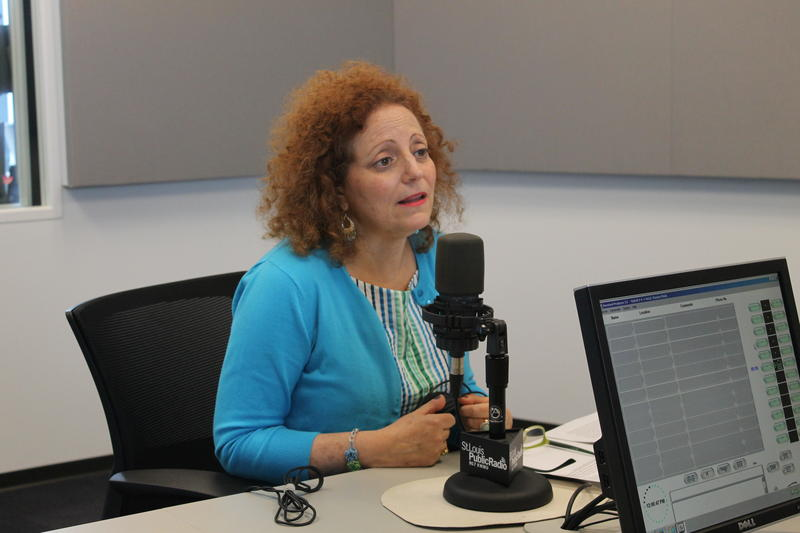 "Karen Aroesty of the Anti-Defamation League of Missouri and Southern Illinois joined ""St. Louis on the Air"" in studio."