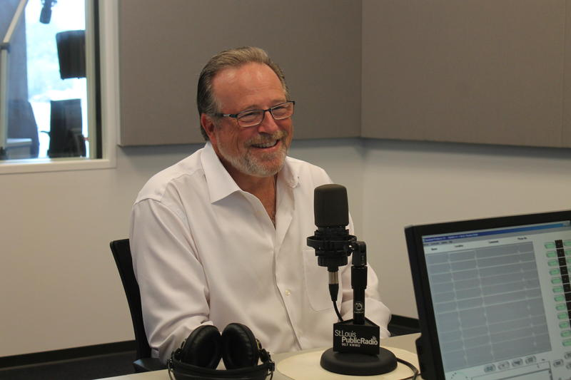 Maryville University president Mark Lombardi joined host Don Marsh in studio.