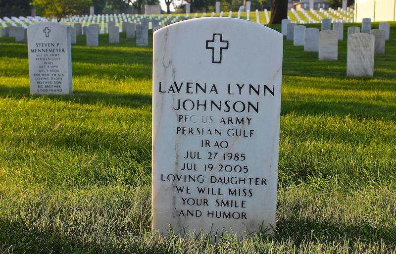 LaVena Johnson was the first female soldier from Missouri to die in Iraq or Afghanistan.