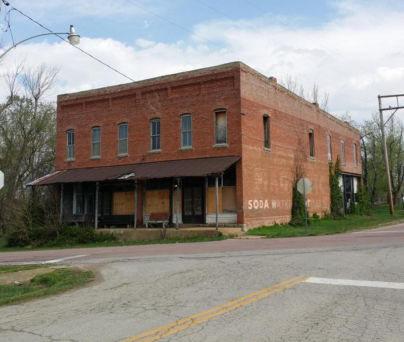 The Phillipsburg General Store was constructed in the last years of the 1800s.