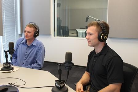 Raymond Evans,left; Paul Jordan, right