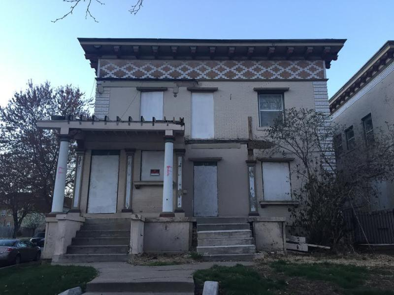 four historic apartment buildings were built in 1902 and 1903 and designed by noted Kansas City architect John McKecknie on West Armour