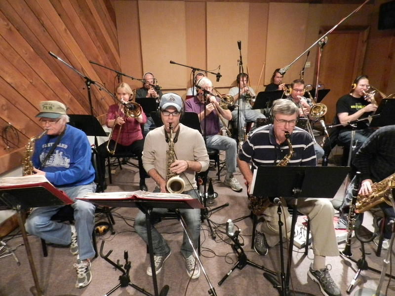 Gateway City Big Band Recoding Session-2013