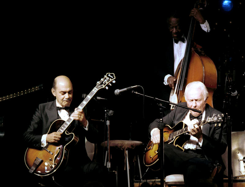 Joe Pass (heard on this show) and Herb Ellis-1986