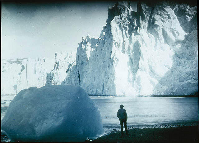 Face of the Neumeyer Glacier 1915 by Frank Hurley