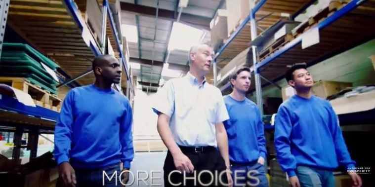 "A new TV ad calls for legislators to override Gov. Jay Nixon's veto of ""right-to-work"" legislation."