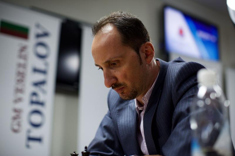 Veselin Topalov at the 2015 sinquefield cup