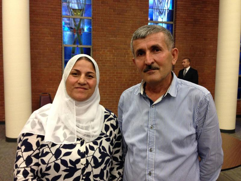 Mohammad and Samira Said are two of the 29 refugees that have been resettled in St. Louis so far in the past year.