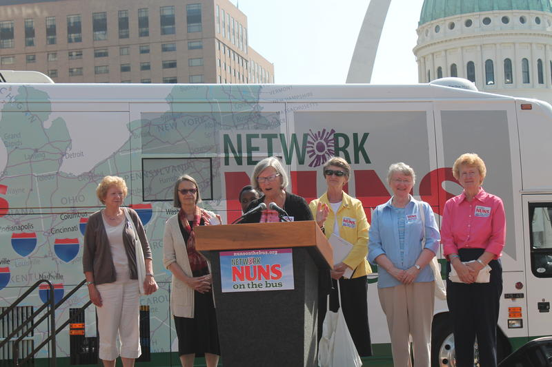 NETWORK Executive Director Sister Simone Campbell talks about the message she and the other