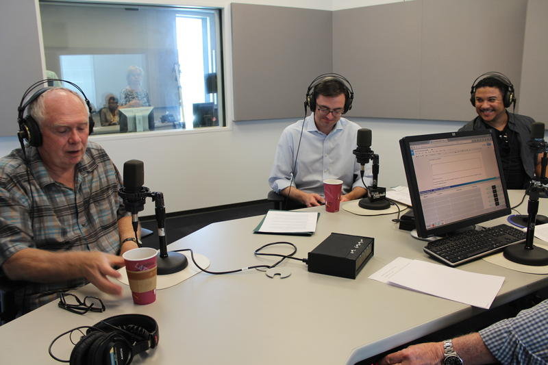 "Stephen Lord, Tim O'Leary, and Aubrey Allicock joined ""St. Louis on the Air"" in studio."