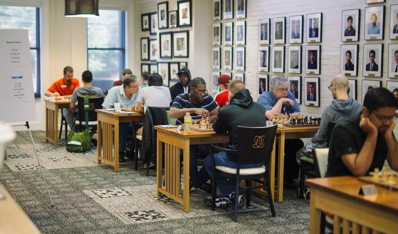 A tournament at the chess center raised almost $400 for ALS