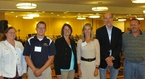 From left, Gayle Thackrey, Bridgeton; Adam Stipanovich, Houston; Ann McGregor, Kansas City; Jennifer Conner, Pierce City; John Hickey, St. Louis; Gerald Nickelson, Washington