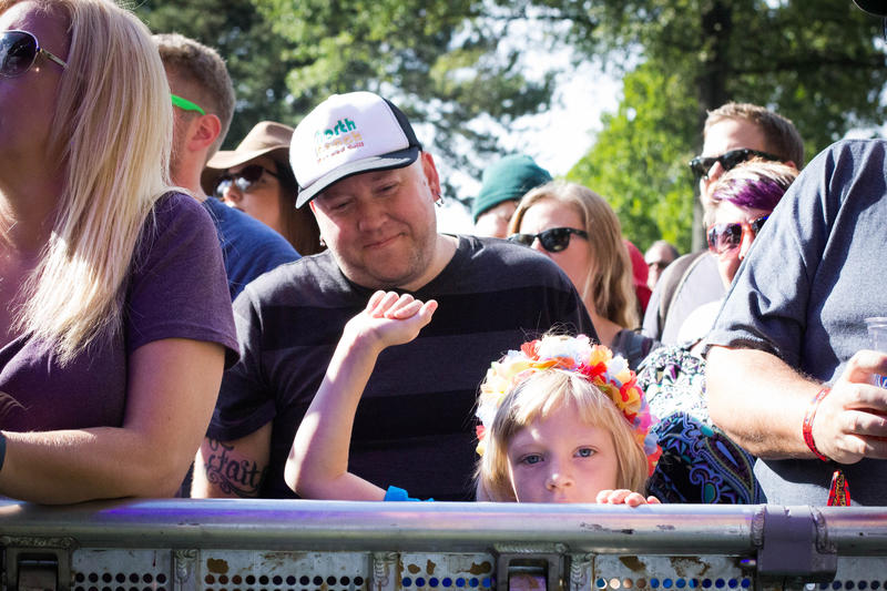 The LouFest crowd seemed younger this year than past years